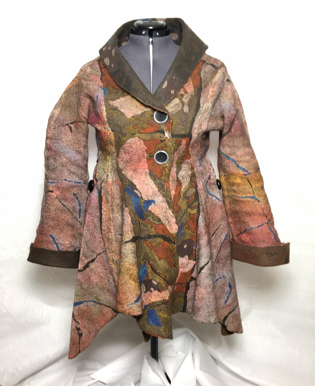 Fiber art jacket