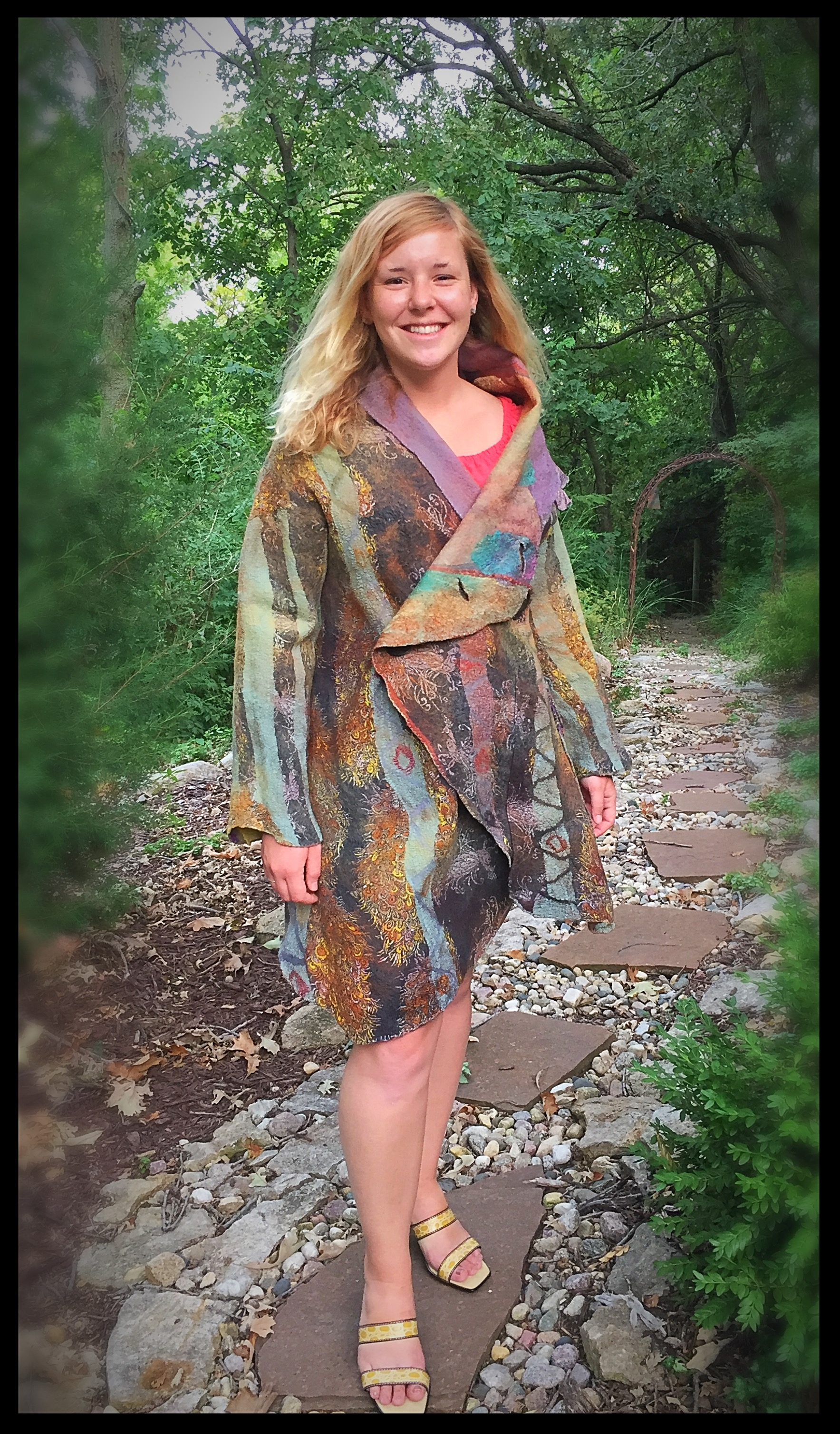 Reversible Nuno-Felted Jacket