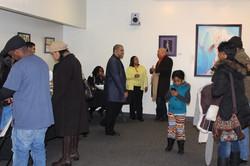 Art show attendees