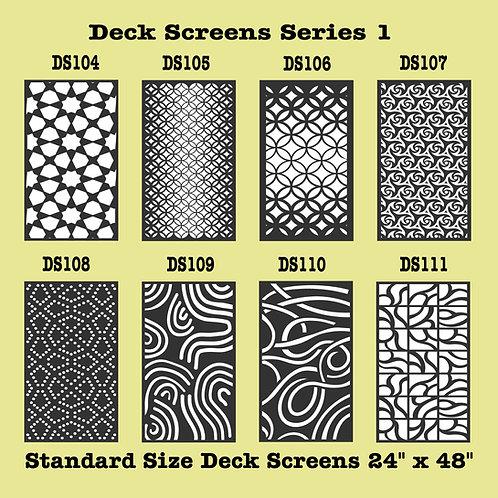 Panels For Decks Series 1 Part 6