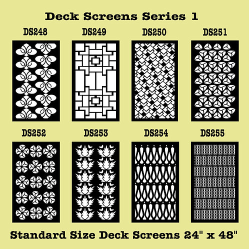 Metal Screen Styles 248 - 271