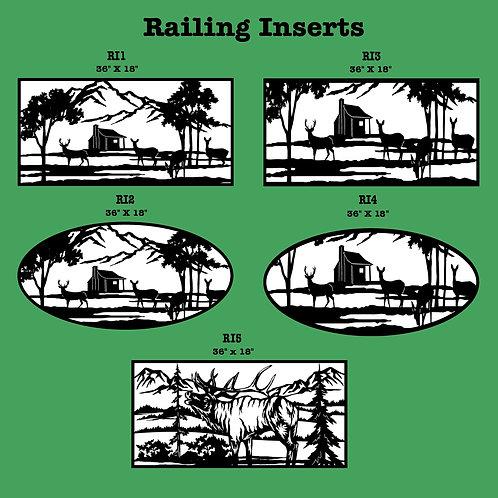 Railing Inserts -Nature
