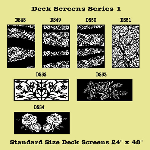 Privacy Screens Series 1 Part 3
