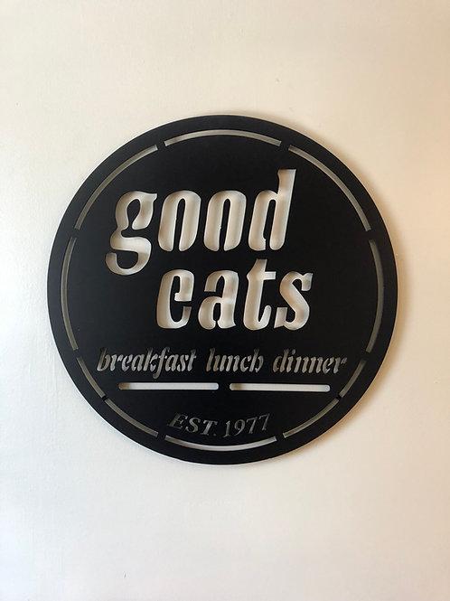 Good Eats Restaurant Sign
