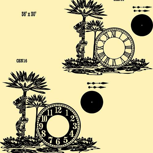 Wall Clocks, Nature Scenes