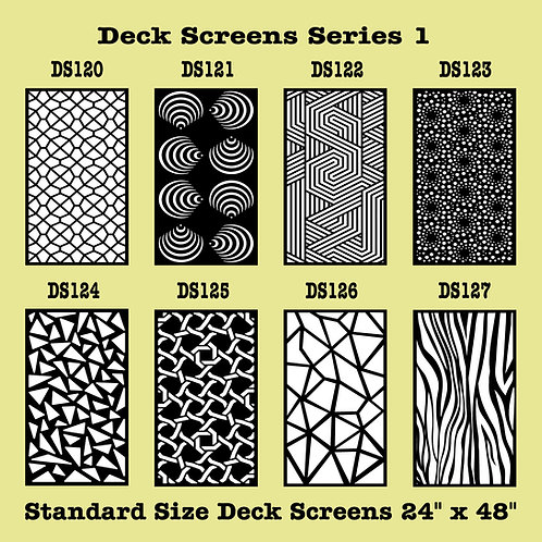 Metal Screen Styles  120 - 247