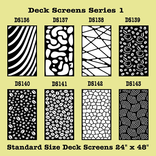 Decorative Screens Series 1 Part 7