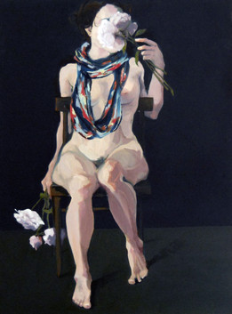 """Untitled.  Oil on canvas , 40"""" x 30"""""""