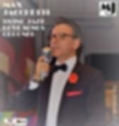 """Max Jacchetti the italian Swing Jazz Love Songs Crooner for Luxury and important Events """"La voce calda ed elegante per un tocco di classe in più al Vs evento"""""""