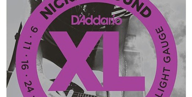 D'ADDARIO  EXL120 nickel wound  09-42