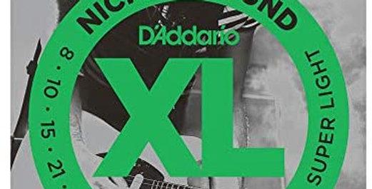 D'ADDARIO EXL130  nickel wound  08-38
