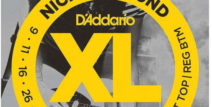D'ADDARIO  EXL125 nickel wound 09-46