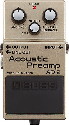 BOSS Acoustic Preamp AD-2