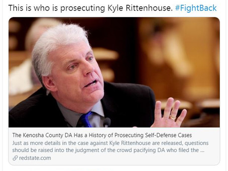 Kenosha Co. DA Filing Charges Against Kyle Rittenhouse is a Gun Control Shill who goes after kids
