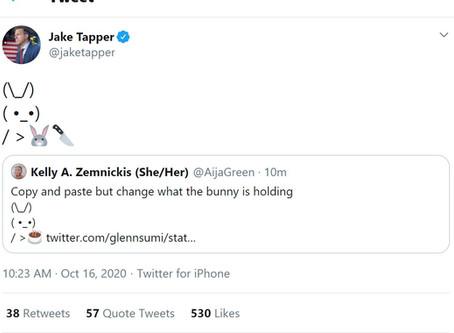 Jake Tapper and His Murderous Bunny Foo Foo!
