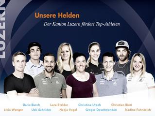 Unsere Helden: Neues Luzerner Olympiateam 2018