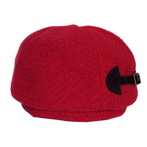 Buckle Beret ---Red
