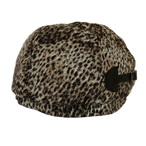 Buckle Beret ---Leopard