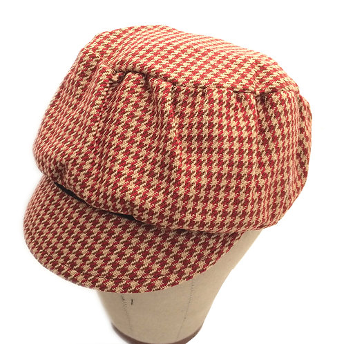 Puffy ---Red Houndstooth