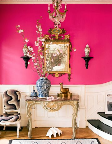 Chic hot pink