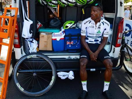 Former gang member living his dream in the Tour de France