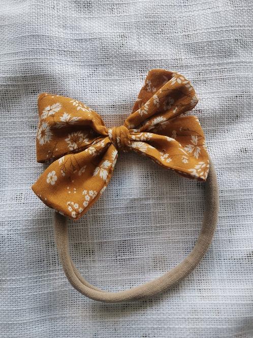 Floral Copper Bow