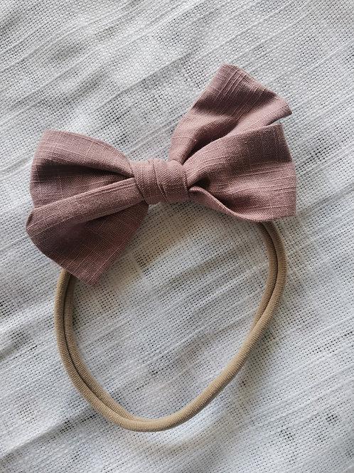 Dusky Pink Bow