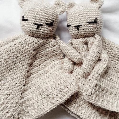 Crocheted Bear Cuddly