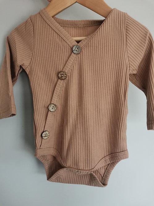 Ribbed Bodysuit (Rustic)