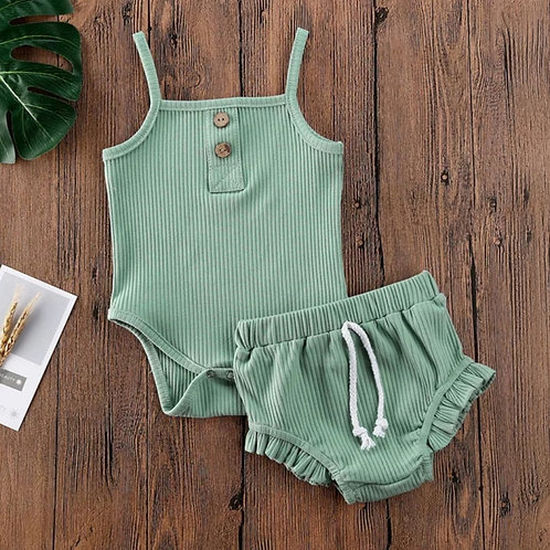 Apple Girls Two Piece Set