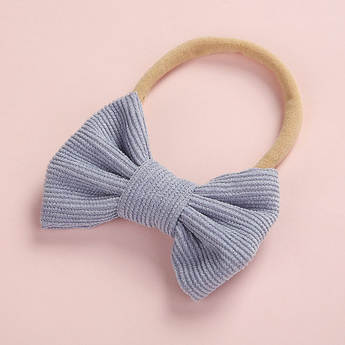 Pale Purple Stretchy Bow