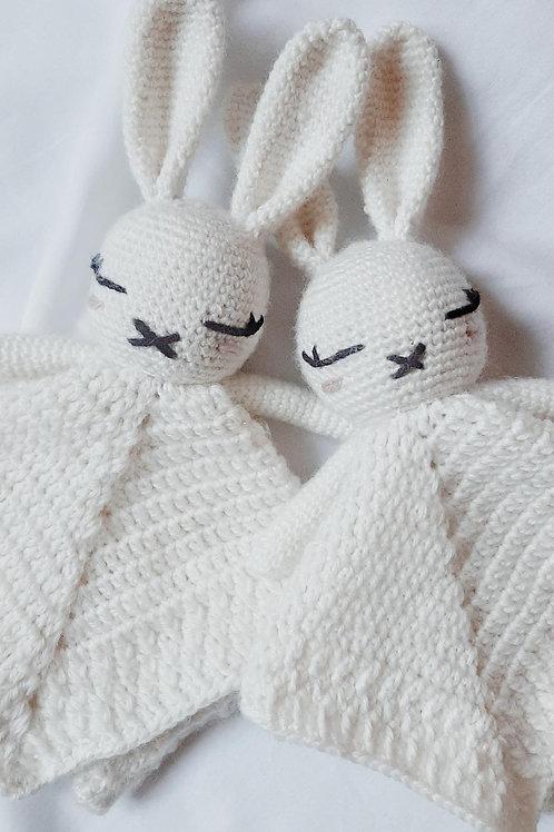 Crocheted Bunny Cuddly