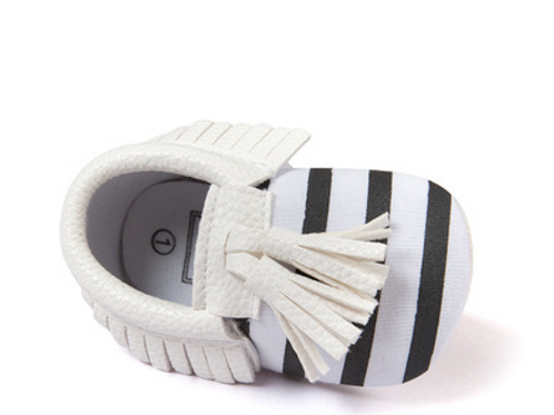 Seven-striped Fringed Baby Shoes Baby Shoes Soft Soles