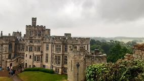 Warwick Castle - păsările fac toți banii