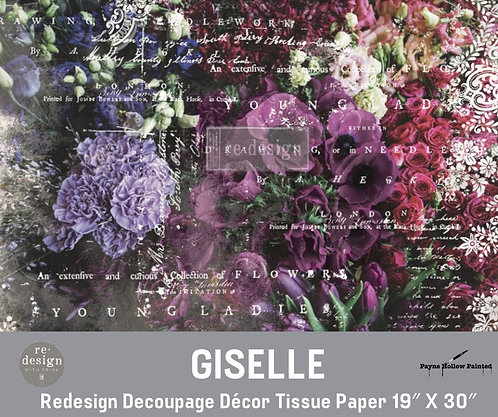 GISELLE - Redesign Decoupage Tissue Paper