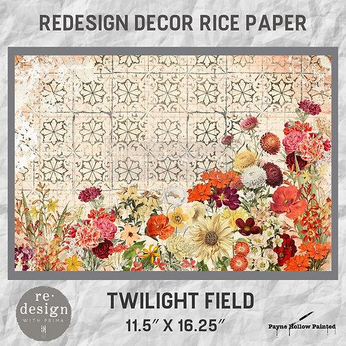 TWILIGHT FIELDS - Redesign Décor Rice Paper