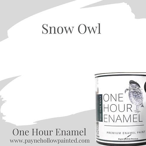 SNOW OWL One Hour Enamel