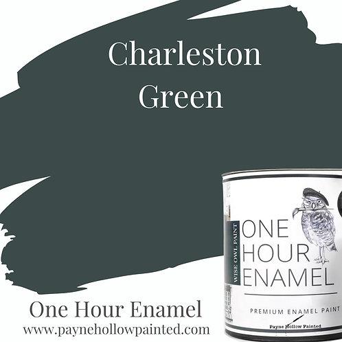 CHARLESTON GREEN One Hour Enamel