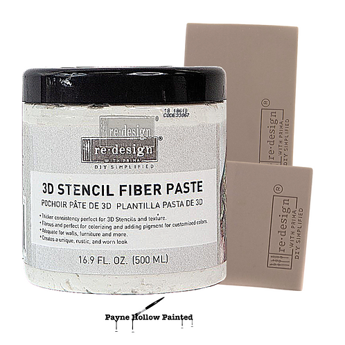 Redesign with Prima, 3D Stencil Paste, Molding Paste or Redesign Spread-Pals