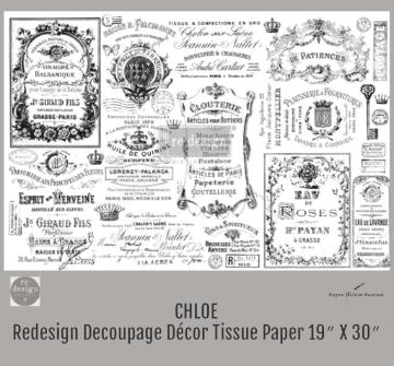 CHLOE - Redesign Decoupage Paper