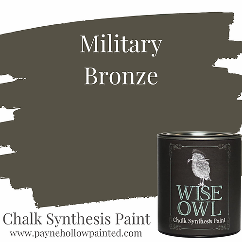 MILITARY BRONZE Chalk Synthisis Paint