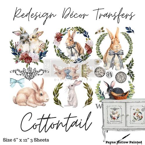 COTTONTAIL - Redesign Decor Transfer