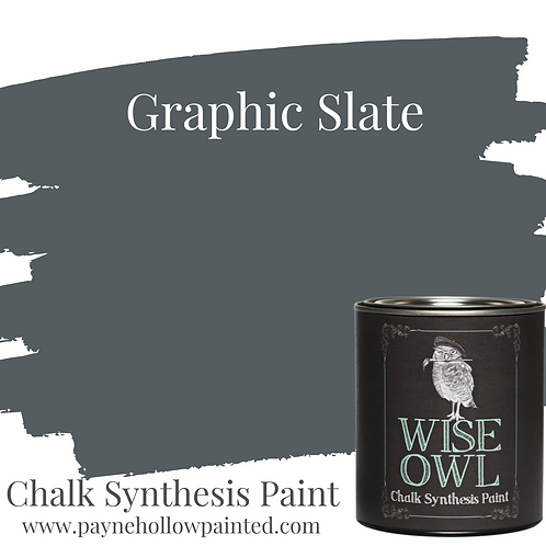 Graphic Slate Chalk Synthisis Paint
