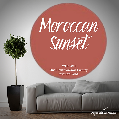 MOROCCAN SUNSET One Hour Ceramic FREE SHIPPING!