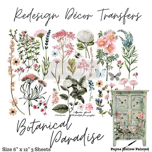 BOTANICAL PARADISE - Redesign Decor Transfer