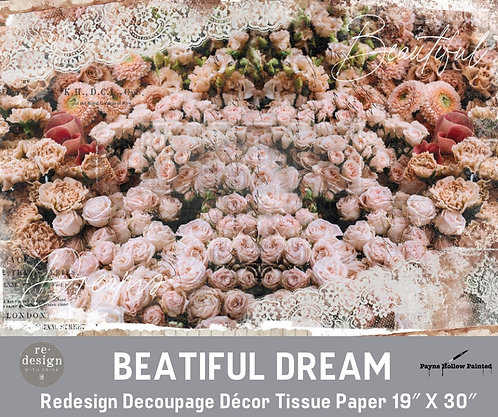 BEAUTIFUL DREAM - Redesign Decoupage Tissue Paper