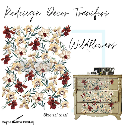WILDFLOWERS - Redesign Décor Transfers®