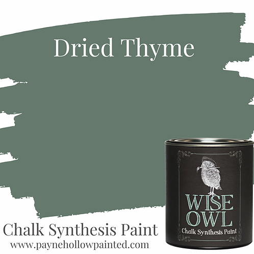 DRIED THYME  Chalk Synthesis Paint