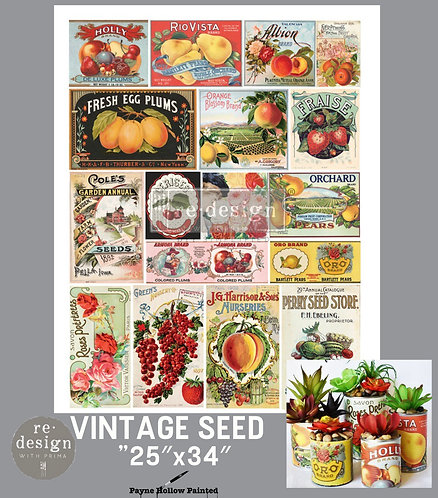 VINTAGE SEED - Redesign Décor Transfers®
