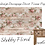 Thumbnail: SHABBY FLORAL -  Redesign Decoupage Tissue Paper